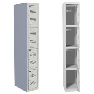 Шкаф для раздевалки ПРАКТИК ML 14-30
