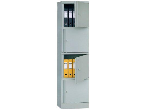 Металлический шкаф для офиса ПРАКТИК AM 1845/4