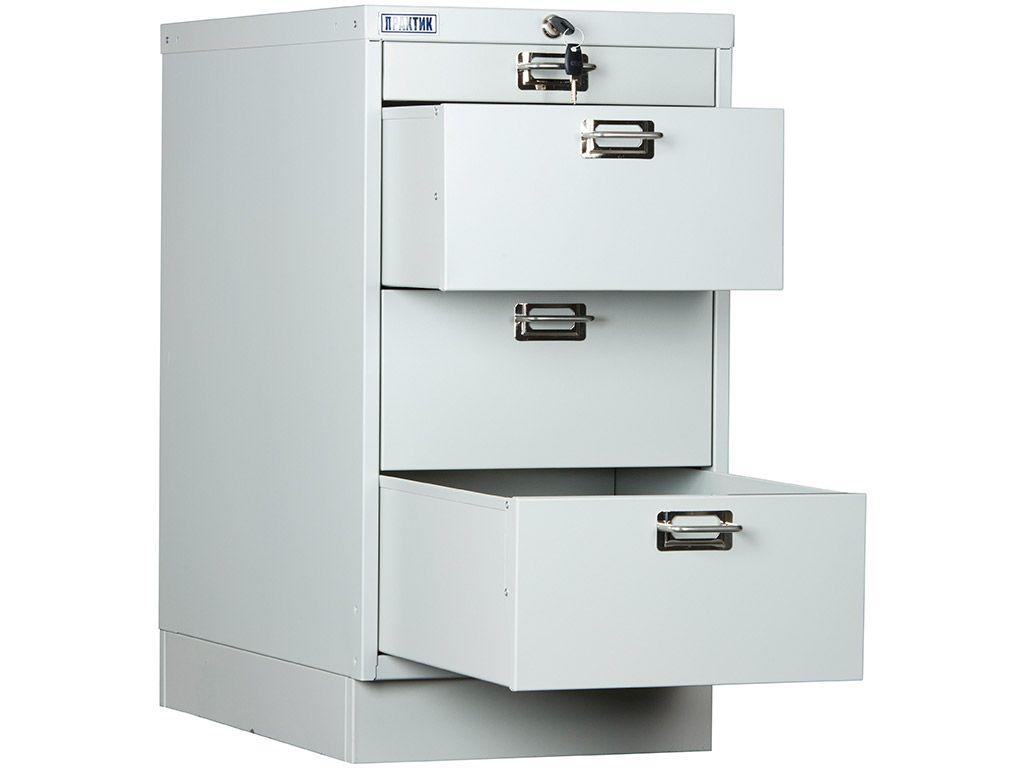 Многоящичный шкаф ПРАКТИК MDC-A3/650/4