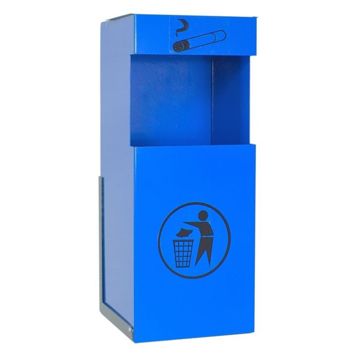 Металлическая урна для сбора мусора УП