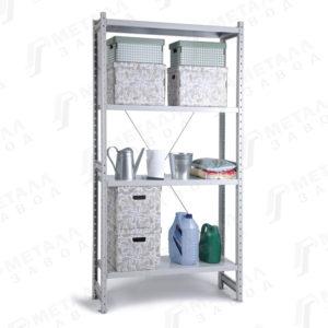 СКУ металлические стеллажи с нагрузкой на полку до 200 кг