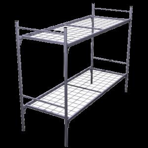 Кровать металлическая двухярусная КД1