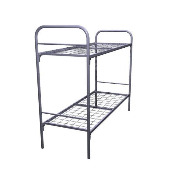 Кровать металлическая двухъярусная КД2