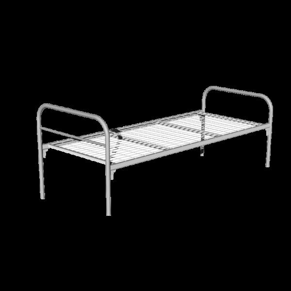 Кровать металлическая одноярусная КО2-800